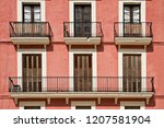 Typical Building Facade With...