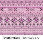peruvian american indian... | Shutterstock .eps vector #1207627177