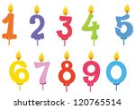 illustration of birthday... | Shutterstock .eps vector #120765514
