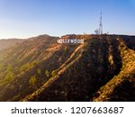 august 10  2018. los angeles ... | Shutterstock . vector #1207663687