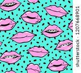 beauty  makeup  cosmetic... | Shutterstock .eps vector #1207668901