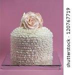 Engagement  Birthday Cake With...