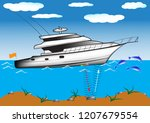 demonstration of the principle... | Shutterstock .eps vector #1207679554
