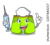 nurse cartoon sport fashion... | Shutterstock .eps vector #1207683217