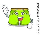 okay cartoon sport fashion... | Shutterstock .eps vector #1207683244