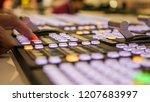 professional broadcast video... | Shutterstock . vector #1207683997