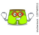 super hero cartoon sport... | Shutterstock .eps vector #1207685311