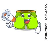 with megaphone character style...   Shutterstock .eps vector #1207685527