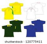 polo jersey design 2 | Shutterstock .eps vector #120775411