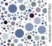 dark blue vector seamless...   Shutterstock .eps vector #1207757821