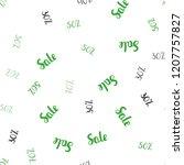 light green vector seamless...   Shutterstock .eps vector #1207757827