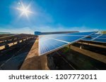 solar cell panel function to...   Shutterstock . vector #1207772011