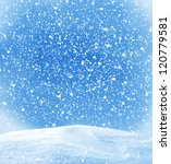 winter background | Shutterstock . vector #120779581