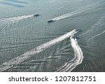 hudson river new york | Shutterstock . vector #1207812751