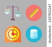 precision icon set. vector set... | Shutterstock .eps vector #1207822267