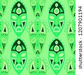 vector illustration. tribal... | Shutterstock .eps vector #1207901194