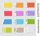 infographic design template... | Shutterstock . vector #1207904731
