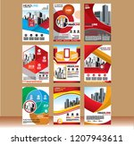 usiness abstract vector...   Shutterstock .eps vector #1207943611