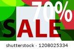 special sale banner  poster... | Shutterstock .eps vector #1208025334