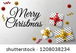 merry christmas holiday...   Shutterstock .eps vector #1208038234