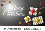 merry christmas holiday... | Shutterstock .eps vector #1208038237