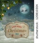 Christmas Vintage Greeting Card ...