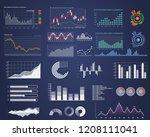 set of intelligent technology... | Shutterstock .eps vector #1208111041