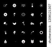 macro icon. macro vector icons... | Shutterstock .eps vector #1208121307