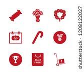 celebration icon. celebration... | Shutterstock .eps vector #1208122027