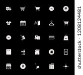 store icon. store vector icons... | Shutterstock .eps vector #1208124481