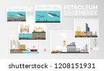 petroleum energy  how to... | Shutterstock .eps vector #1208151931