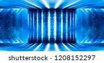 background of an empty corridor ... | Shutterstock . vector #1208152297