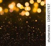 christmas light background. ...   Shutterstock . vector #1208157517