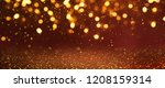 christmas light background. ...   Shutterstock . vector #1208159314
