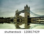 Tower Bridge In London  United...