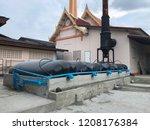 biogas in thailand | Shutterstock . vector #1208176384