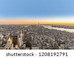 specular skyline view of new... | Shutterstock . vector #1208192791