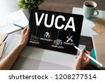 Vuca World Concept On Screen....