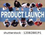 product launch  motivational...   Shutterstock . vector #1208288191
