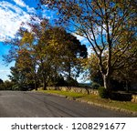 lush landscape of the south of... | Shutterstock . vector #1208291677