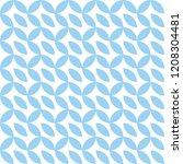 discreet seamless pattern...   Shutterstock .eps vector #1208304481