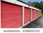 numbered self storage and mini... | Shutterstock . vector #1208331514