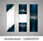 abstract new technology dynamic ... | Shutterstock .eps vector #120835555