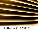 fragment of high tech blinds  ...   Shutterstock . vector #1208370151
