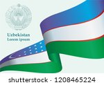illustrative editorial flag of... | Shutterstock .eps vector #1208465224