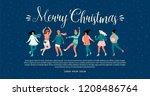vector template with women... | Shutterstock .eps vector #1208486764