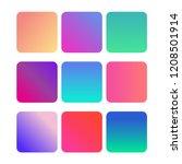 soft color background. gradient ...   Shutterstock .eps vector #1208501914