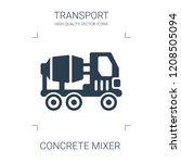 concrete mixer icon. high... | Shutterstock .eps vector #1208505094
