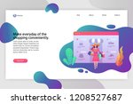 modern flat design business...   Shutterstock .eps vector #1208527687