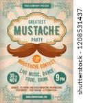 announcement template design to ... | Shutterstock .eps vector #1208531437